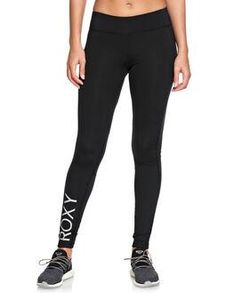 BLACK WOMENS CLOTHING ROXY PANTS - ERJNP03192KVJ0
