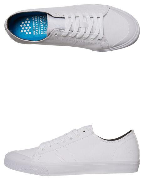 WHITE MENS FOOTWEAR KUSTOM SNEAKERS - 4967205CWHI