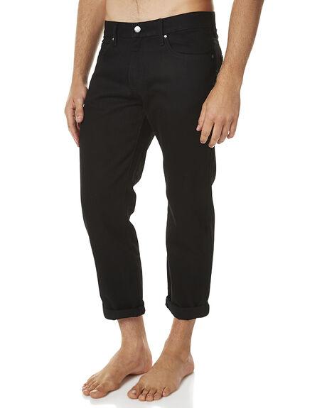BLACK MENS CLOTHING DR DENIM JEANS - 1630114-101