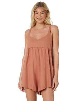 ALMOND ROSE WOMENS CLOTHING SAINT HELENA PLAYSUITS + OVERALLS - SHS19114ALMR