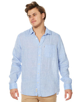 CHAMBRAY MENS CLOTHING ACADEMY BRAND SHIRTS - 18S840CHAM