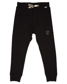 BLACK KIDS BOYS MUNSTER KIDS PANTS - MK182PA03BLK