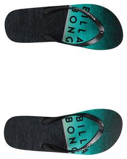 BLACK MINT KIDS BOYS BILLABONG THONGS - 8692931BLKMT