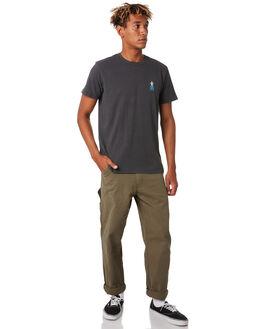 BLACK WASH MENS CLOTHING KATIN TEES - TSPIN05BKWSH