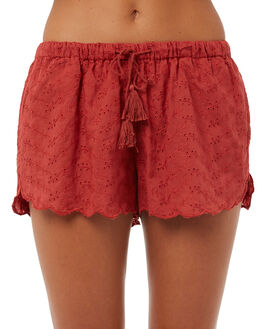 ORANGE WOMENS CLOTHING ALL ABOUT EVE SHORTS - 6403026ORNG