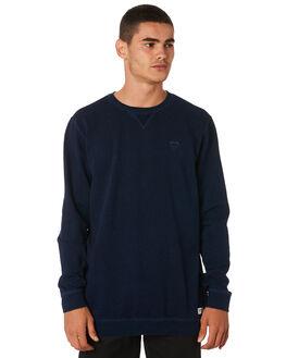 DIRTY DENIM MENS CLOTHING BANKS JUMPERS - WFL0171DDN