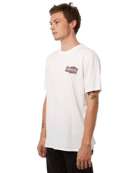 OFF WHITE OUTLET MENS NO NEWS TEES - N5182001OFFWHT
