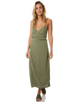 GREEN WOMENS CLOTHING TEE INK DRESSES - CAST18AGRN