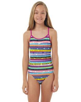 SURFMANIA KIDS GIRLS SPEEDO SWIMWEAR - 4260B-6782SRFMN