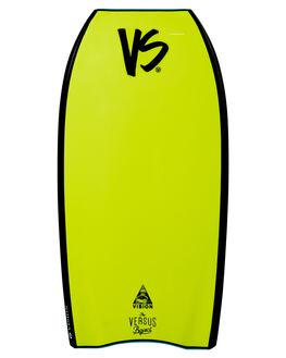 AQUA FLURO YELLOW BOARDSPORTS SURF VS BODYBOARDS BOARDS - V19VISION41AQAQFY