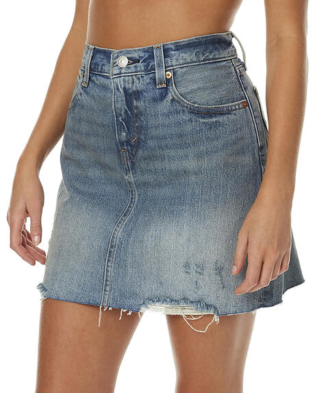 OVERCAST FADE WOMENS CLOTHING LEVI'S SKIRTS - 17765-0007OVE