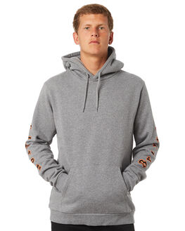 HEATHER GREY MENS CLOTHING BRIXTON JUMPERS - 02529HTGRY