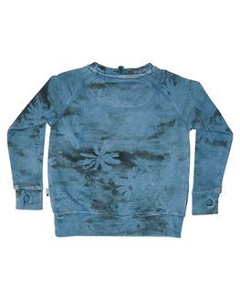 WASHED BLUE KIDS TODDLER BOYS MUNSTER KIDS JUMPERS - MK181FL02WBLU