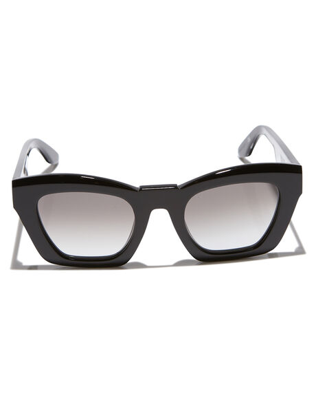 GLOSS BLACK GRAD WOMENS ACCESSORIES VALLEY SUNGLASSES - S0362GBLKG