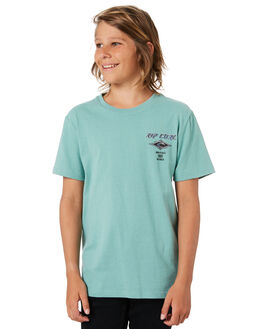 GREEN HAZE KIDS BOYS RIP CURL TOPS - KTEWK23391