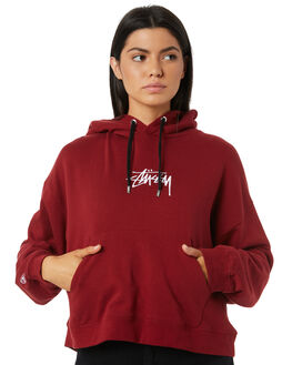 DARK PORT WOMENS CLOTHING STUSSY JUMPERS - ST195313DARKP