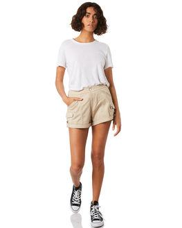 OXFORD TAN WOMENS CLOTHING VOLCOM SHORTS - B0931875OXF