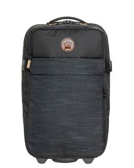 STRANGER BLACK MENS ACCESSORIES QUIKSILVER BAGS + BACKPACKS - EQYBL03140-KYG0