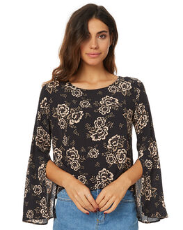 CAMELLIA WOMENS CLOTHING THE HIDDEN WAY FASHION TOPS - H8167168CAT
