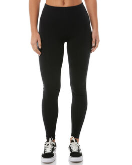 BLACK WOMENS CLOTHING BILLABONG PANTS - 6585417BLK