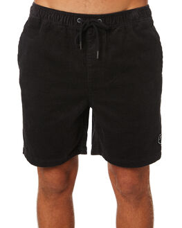 WASHED BLACK MENS CLOTHING RIP CURL SHORTS - CWALR18264