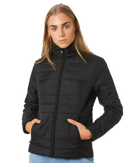 BLACK WOMENS CLOTHING SWELL JACKETS - S8194382BLACK