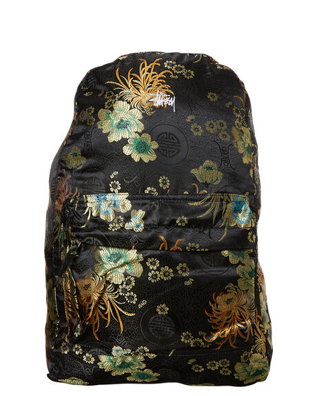 BLACK WOMENS ACCESSORIES STUSSY BAGS - ST773033BLK