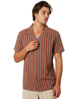 ALMOND MENS CLOTHING RHYTHM SHIRTS - JUL19M-WT05-ALM