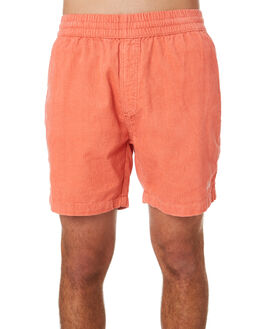 GUAVA PINK MENS CLOTHING DEUS EX MACHINA SHORTS - DMP93169GUPNK