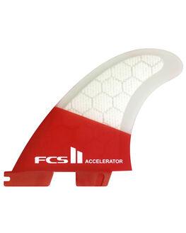 RED MOOD BOARDSPORTS SURF FCS FINS - FACC-PC02-TS-RRDM1