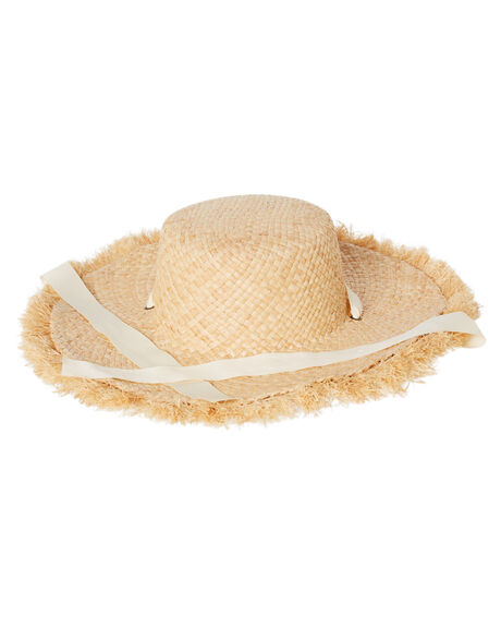 NATURAL WOMENS ACCESSORIES TIGERLILY HEADWEAR - T492763NAT