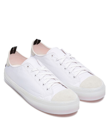 WHITE MENS FOOTWEAR ROLLIE SNEAKERS - SC00623WHT