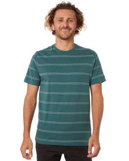 FOREST GREEN MENS CLOTHING RIP CURL TEES - CTESA20056