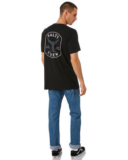 BLACK MENS CLOTHING SALTY CREW TEES - 20035238BLK