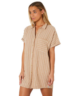SUNBURN WOMENS CLOTHING RHYTHM DRESSES - JUL19W-DR05SUN