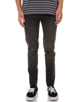 COSMO BLACK MENS CLOTHING CHEAP MONDAY JEANS - 0442238COSMO