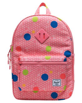 PRIMARY POLKA KIDS GIRLS HERSCHEL SUPPLY CO BAGS + BACKPACKS - 10312-03267-OSPLK