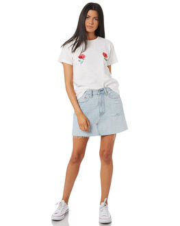 WHITE WOMENS CLOTHING TEE INK TEES - VAW1017WHT