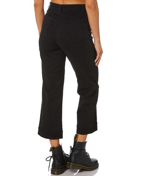 BLACK WOMENS CLOTHING RUSTY PANTS - PAL1198BLK