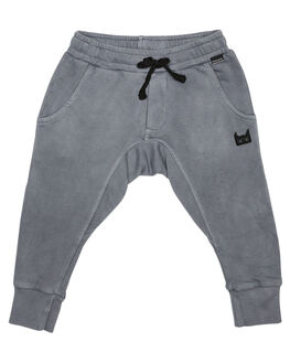 WASHED GREY KIDS TODDLER BOYS MUNSTER KIDS PANTS - MK172TR05WGRY
