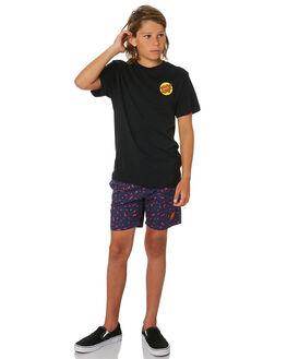 BLACK KIDS BOYS SANTA CRUZ TOPS - SC-YTA0334BLK
