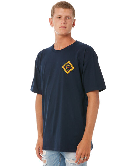 NAVY MENS CLOTHING VOLCOM TEES - A35417T1NVY