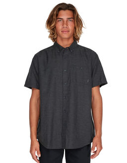 CHARCOAL MENS CLOTHING BILLABONG SHIRTS - BB-9595201-CHR