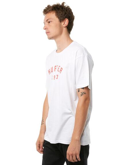 WHITE MENS CLOTHING HUFFER TEES - MTE81S220-544WHT