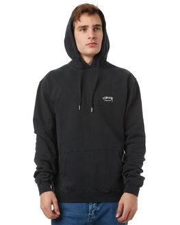 ROOTS BLACK MENS CLOTHING STUSSY JUMPERS - ST071211RBLK