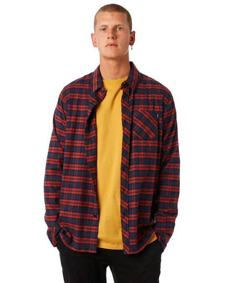BARN RED MENS CLOTHING ELEMENT SHIRTS - 183211BRED