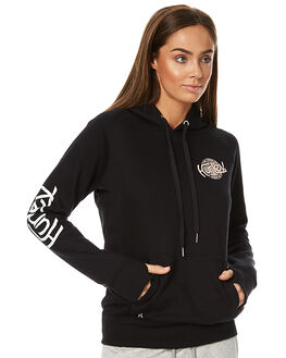 BLACK OUTLET WOMENS HURLEY JUMPERS - AGFLTTS700A