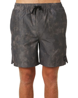 BLACK MENS CLOTHING RUSTY BOARDSHORTS - WKM0944BLK