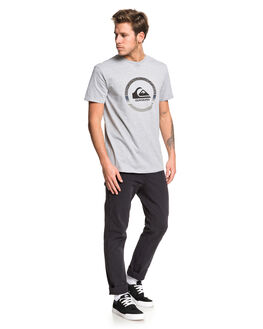 ATHLETIC HEATHER MENS CLOTHING QUIKSILVER TEES - EQYZT05481-SGRH