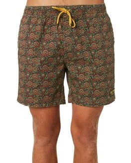 MULTI MENS CLOTHING DEUS EX MACHINA BOARDSHORTS - BDMP82834MUL